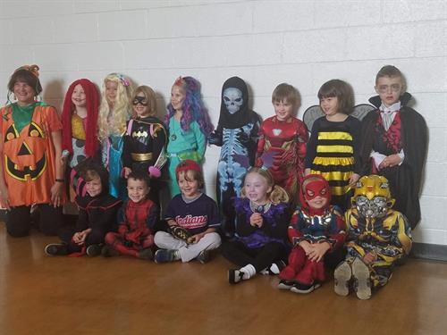 Halloween Costume Day
