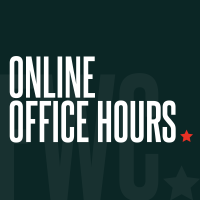 Online Office Hours: Staying motivated, organized, and productive in a remote-working environment