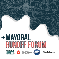 MAYORAL RUNOFF FORUM