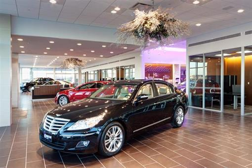 Showroom at Frank Kent Cadillac