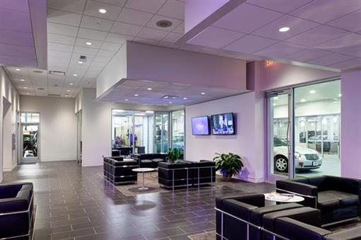 Customer Waiting Area at Frank Kent Cadillac