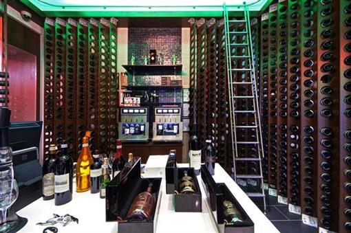 Cadillac Wines inside of Frank Kent Cadillac