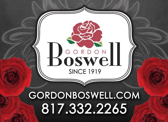 Gordon Boswell Flowers