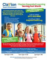 Clayton Youth Enrichment Offers Expanded Learning Programs