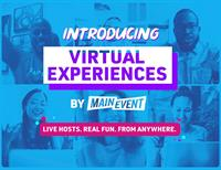 Trivia Night! Happy Hour! Team Building! Main Event Launches All-new, Live-hosted Virtual Experiences Platform Nationwide