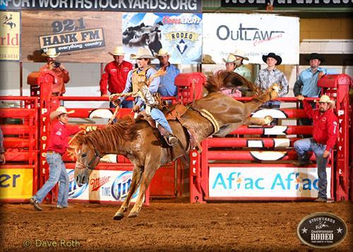 Stockyards Championship Rodeo Apr 1 2017 Fort Worth