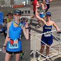 Whitley Penn's Amanda Beabout and Amy Sahely Compete in the 2019 Boston Marathon