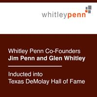 Whitley Penn Co-Founders Jim Penn and Glen Whitley Inducted into Texas DeMolay Hall of Fame