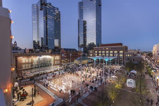 Shannon Gracey is located in the heart of Sundance Square in downtown Fort Worth, Texas.