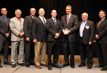 Lackland Security was awarded the Texas Veterans Commission Mid-Sized Employer of the Year Award in 2012