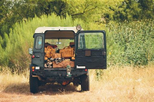 Overland Packing in the Land Rover