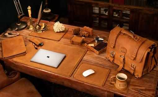 Leather Desk Collection