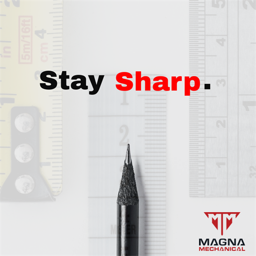Stay Sharp With Magna.