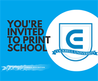 Print School - FREE & Lunch provided