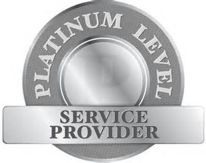 Recognized by Sharp as a Platinum Level Service Provider