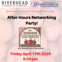 After Hours Networking at the Riverhead Cider House