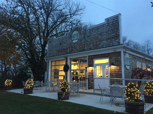 Hampton Coffee Company's Aquebogue location