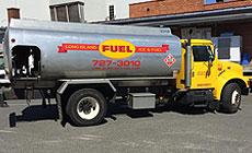 Long Island Ice & Fuel - Fuel Truck