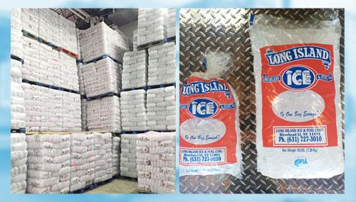Long Island Ice & Fuel - 5lb bag & 16lb bag