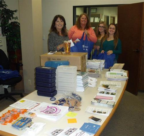Bags for new teachers in Morgan Hill