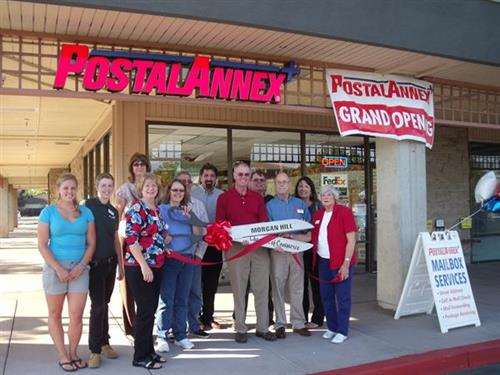 Postal Annex Ribbon Cutting