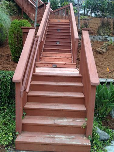 deck & stair repair in Jackson oaks