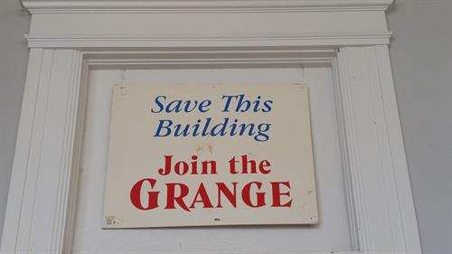 Join the Grange and Save Local History