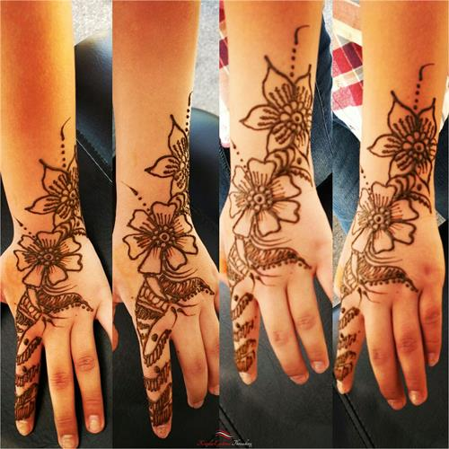 Cool Henna art by Neha at Kapila Eyebrow Threading Morgan Hill. Thanks for all the love and support!! ????Eyebrow Threading $7.99????  ? 408-831-2769 ?  ?? 16400 Juan Hernandez Dr Morgan Hill??  ?? Mon to Sun 8amto10pm ??  ??????Click Me?????? www.kapilaeyebrowthreading.com