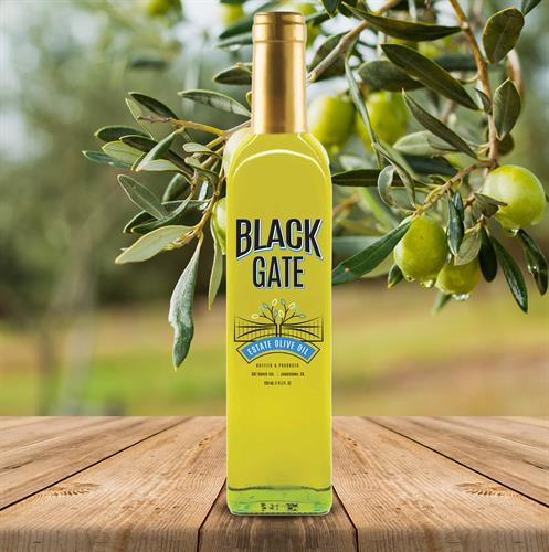 Black Gate Olive Oil//Gilroy