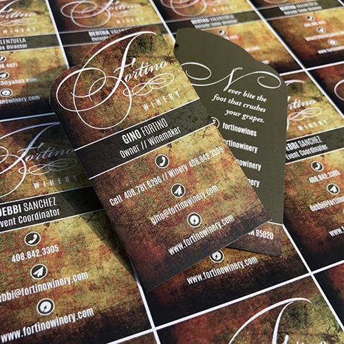 Business Cards_Fortino Winery / Gilroy