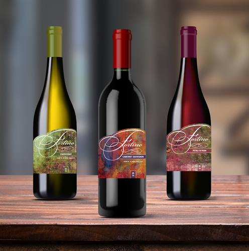 Wine Labels_Fortino Winery / Gilroy