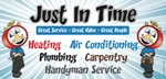 Just In Time Heating, A/C, Plumbing & Remodeling