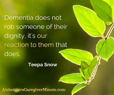 Senior Helpers focuses on positive dementia care from dementia expert Teepa Snow