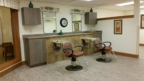 Our community salon is a full service salon