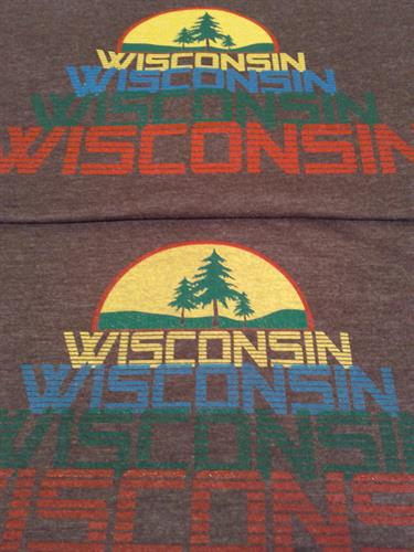 Wisconsin Throwback T-Shirt