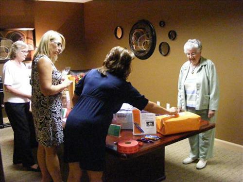 Fund raising event at Appleton office