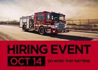 Pierce Manufacturing Hiring Event