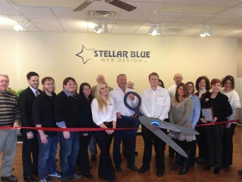 Ribbon cutting ceremony with Fox Cities Chamber of Commerce
