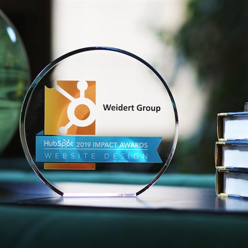 HubSpot Impact Award for Website Design