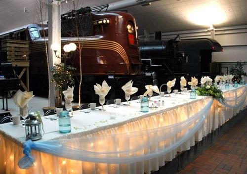 National Railroad Museum, The Marq is their Premies Caterer