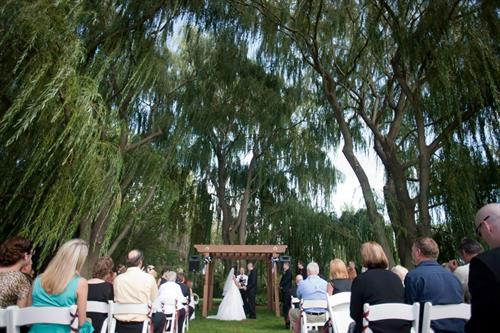 One of The Marq's Ceremony Locations-The Arbor