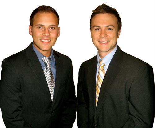 Dr. Tyler Skibba and Dr. Brent Buss
