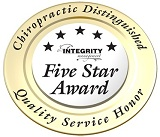 Integrity Five Star Award for Quality Service