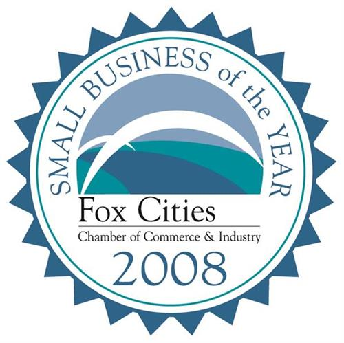 2008 Fox Cities Chamber Small Buisness of the Year