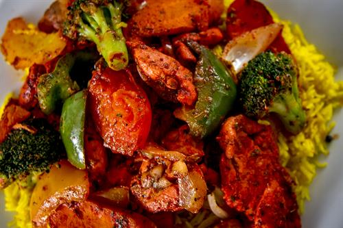Tandoori Chicken Stir Fry