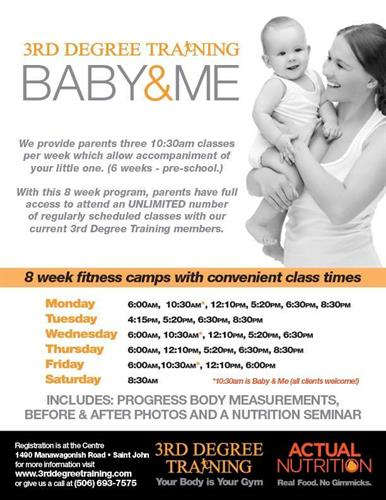 Baby & Me flyer