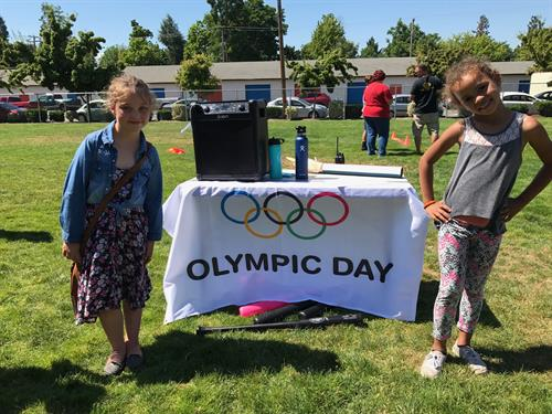 Annual Olympic Day at our Grants Pass Club
