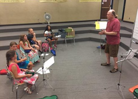 Ukulele Club at our Talent location