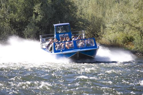 Jet over rapids in just 6 inches of water!