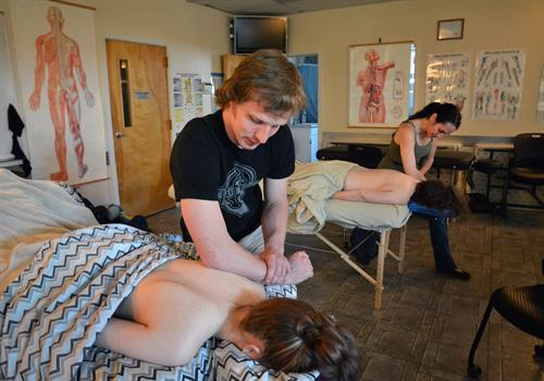 RCC massage program,